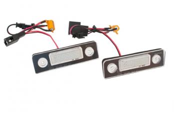 LED osvětlení SPZ Skoda Octavia II 2 Roomster