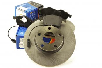 Brzdy kotouče a desky přední AUDI A4 (B5) A6 (C4) 288mm
