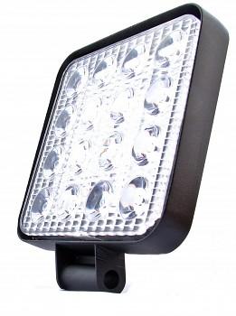 Pracovní či couvací světlo 16 LED 48W 12V 24V tenké