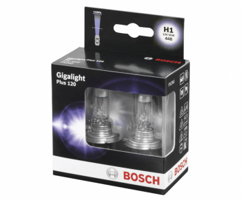 Žárovky H1 BOSCH Giga Light Plus 120 - sada 2ks