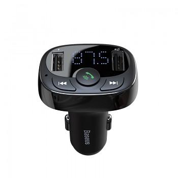 Baseus FM transmitter s bluetooth 2x USB + handsfree a nabíječka