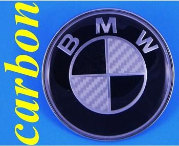 BMW znak logo CARBON 3 5 E30 E38 E39 E60 X1 Z3 M3 šedý