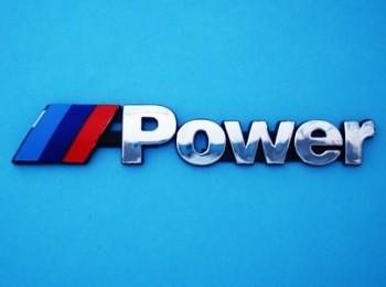 Znak Logo Nápis BMW M POWER MPOWER