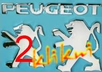 Znak Logo PEUGEOT106 206 307 607 85mm