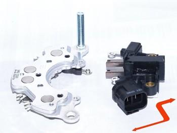 Regulátor a diody pro alternátor OPEL ISUZU 100A