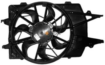 Ventilátor chlazení chladiče FORD FOCUS 1.8 TDCi 1.4 1.6 1.8 16V s klimatizací