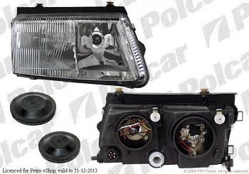 Světlo reflektor přední VW Passat B5 97-00 s mlhovkou