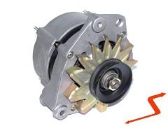 Alternátor AUDI 80 90 100 200 - 90 Amper