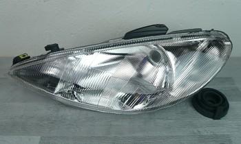 Světlo světla reflektor přední Peugeot 206