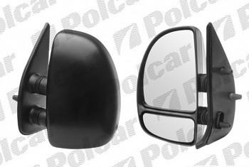 Zpětné zrcátko Fiat Ducato 99-06 krátké manuální