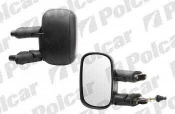 Zpětné zrcátko FIAT DOBLO 01-10 manuální