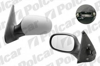 Zpětné zrcátko RENAULT CLIO II 98-01 elektrické