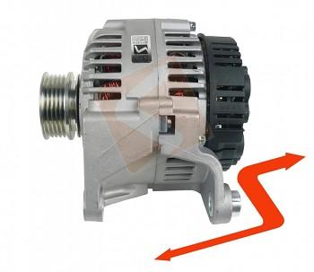 Alternátor VW PASSAT B5 1.6 1.8 benzín