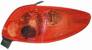 Světla Světlo zadní PEUGEOT 206 po FL
