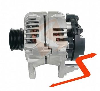 Alternátor VW GOLF V PLUS 1.6 benzín