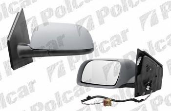 Zpětné zrcátko VW POLO 9N 01-05 elektrické lak