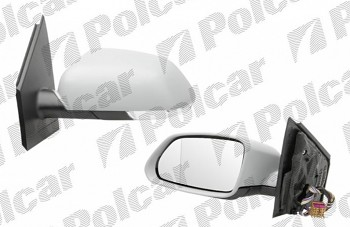 Zpětné zrcátko VW POLO 9N3 05-09 elektrické