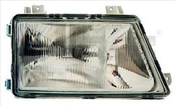 Světlo světla reflektor přední Mercedes Sprinter 95-06 s mlhovkou