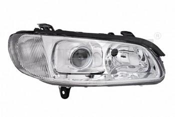 Světlo světla reflektor přední Opel Omega B 94-99 čočka