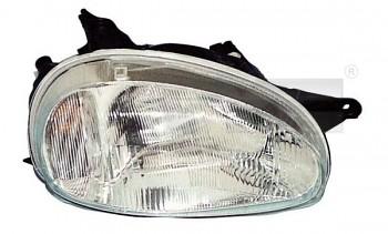 Světlo světla reflektor přední OPEL CORSA B 93-01