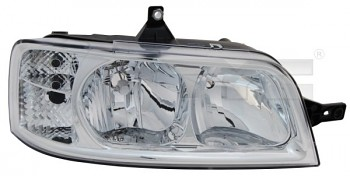 Světlo světla reflektor přední FIAT DUCATO CITROEN JUMPER PEUGEOT BOXER