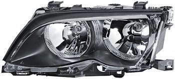Světlo světla přední BMW 3 E46 sedan kombi - černé